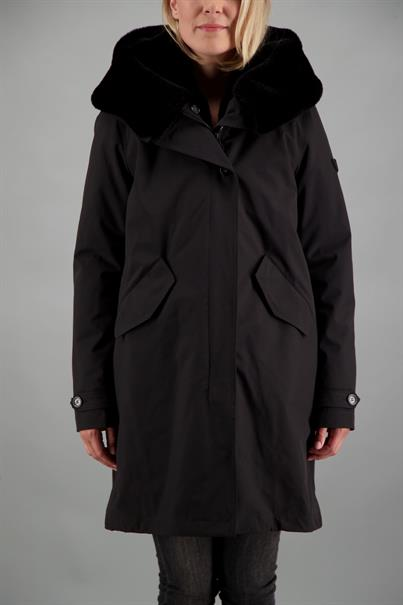 AIRFORCE LONG TEDDY PARKA