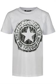 AIRFORCE SRATCHED LOGO T-SHIRT