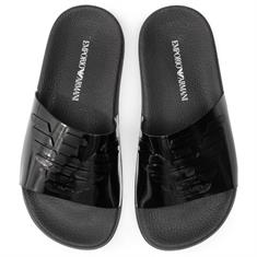 ARMANI SLIPPER METALIC