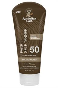 AUSTRALIAN GOLD SPF 50 FACE WITH SELF TANNER