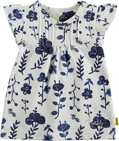 BESS DRESS AOP BLUE FLOWERS