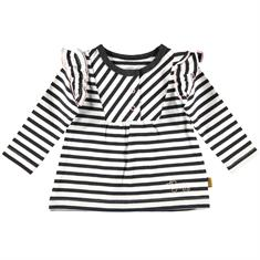 BESS SHIRT L.S STRIPES RUFFLES
