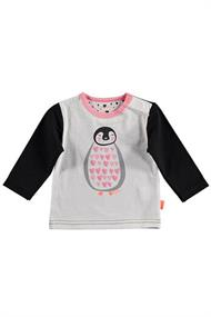 BESS SHIRT L.SL. PENGUIN HEARTS