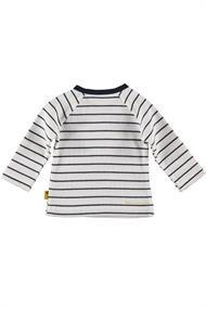 BESS SHIRT L.SL. STRIPED HAPPY