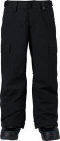 BURTON BOYS EXILE CARGO PT TRUE BLACK