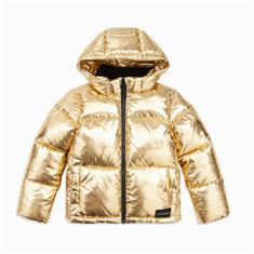 CALVIN GOLD PUFFER JACKET