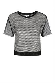 CALVIN KLEIN MESH CROP TOP