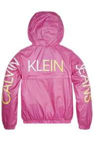 CALVIN KLEIN PACKABLE HERO LOGO JACKET