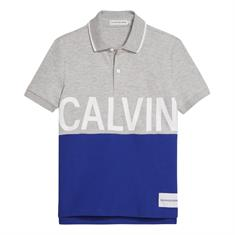CALVIN KLEIN PIQUE CALVIN CHEST REGULAR POLO