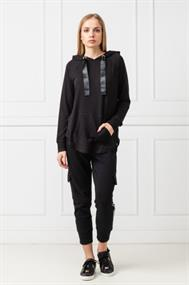 DKNY HOODED PULLOVER