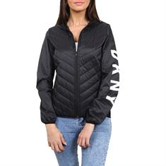 DKNY HOODED RUNNIG JACKET