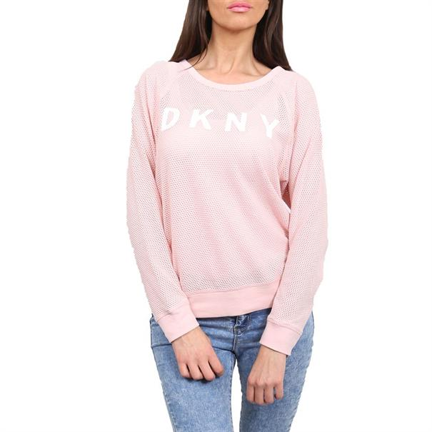 DKNY LONG SLEEVE RAGLAN TEE W