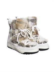 GOLDBERGH Butsu fur boots (real rabbit)
