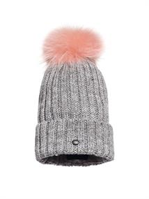 GOLDBERGH CHRISTINA BEANIE REAL RACCOON FUR