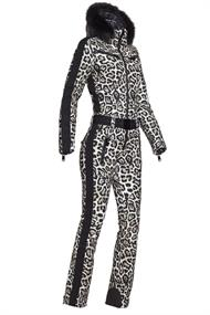 GOLDBERGH COUGAR JUMPSUIT REAL FOX FUR