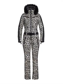 GOLDBERGH COUGAR JUMPSUIT REAL FUR