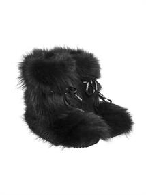 GOLDBERGH Fina boots (real fox fur)