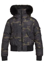GOLDBERGH FOREST JACKET REAL FOX FUR