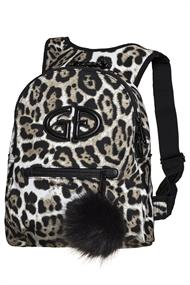 GOLDBERGH HANDY BACKPACK REAL RACCOON FUR