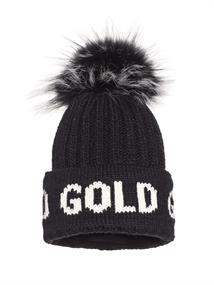 GOLDBERGH HODD BEANIE REAL RACOON