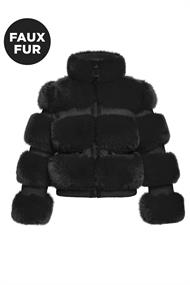 GOLDBERGH PARADISO JACKET FAUX FUR