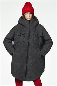 GOLDBERGH SHELTER COAT REAL ARCTIC RACCOON FUR