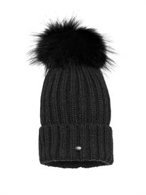 GOLDBERGH UNA BEANIE REAL RACCOON