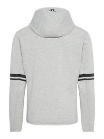 J.LINDEBERG LOGO HOOD TECH SWEAT