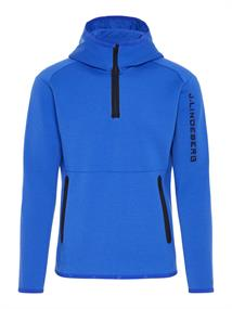 J.LINDEBERG M LOGO HOOD TECH SWEAT