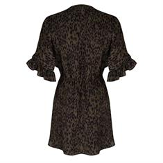 JACKY DRESS FLARED SLEEVES