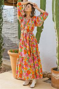 MISS JUNE DRESS FLORALIES