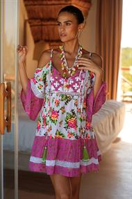 MISS JUNE DRESS TROPICAL
