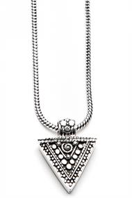 MOOST WANTED TRIANGLE NECKLACE 50CM
