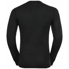 ODLO BL TOP CREW NECK L/S ACTIVE WARM ECO