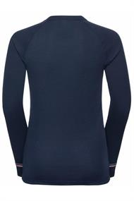ODLO BL TOP CREW NECK L/S ACTIVE