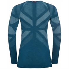 ODLO BL TOP CREW NECK L/S NATURAL + KINSHIP WARM