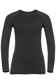 ODLO BL TOP CREW NECK L/S PERFORMANCE WARM ECO
