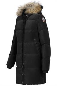 Verkoop Parajumpers Jas Dames Zwart Kodiak Down Fashion Shop