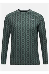 PEAK PERFORMANCE M SPIRIT PRINTED CREW