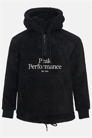 PEAK PERFORMANCE W ORIGINAL PILE HALF ZIP HOOD