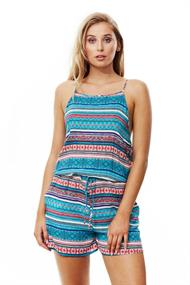 PIHA HIGH NECK PLAYSUIT
