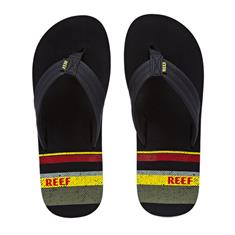 REEF WATERS BLACK/STRIPES