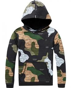SCOTCH CAMOUFLAGE HOODIE