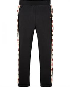 SCOTCH EMBROIDERED SIDE PANEL SWEAT PANTS