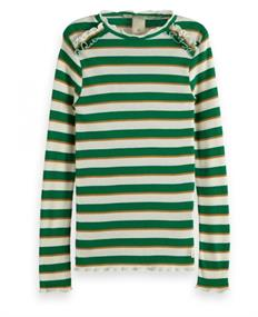 SCOTCH FITTED LONG SLEEVE TEE