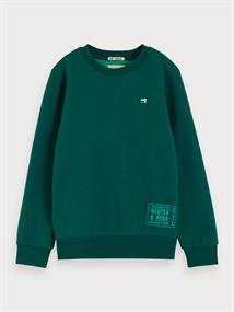 SCOTCH&SODA BASIC CREWNECK SWEAT 2 TONE