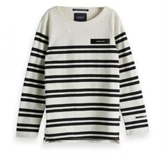 SCOTCH&SODA BRETON IN ENGINEERED STRIPE