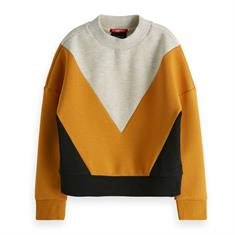 SCOTCH&SODA COLORBLOCK SWEAT
