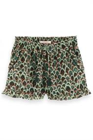 SCOTCH&SODA DRAPEY WOVEN ALL-OVER PRT SHORT