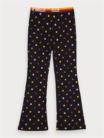 SCOTCH&SODA FLARE LEGGINGS WITH ELASTIC WAISTBAND